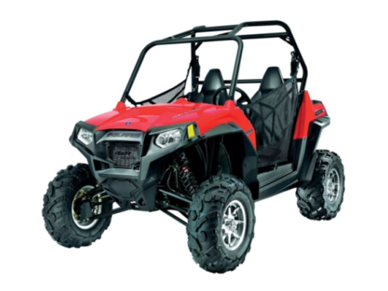 2013 Polaris RZR S 800 Indy Red