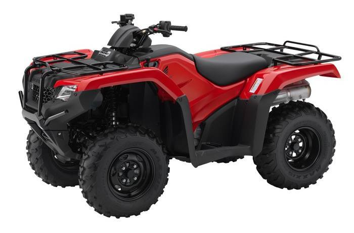 2017 Honda RANCHER 4X4 WITH ELECTRIC SHIFT