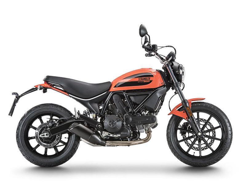 2016 Ducati Scrambler Sixty2 Atomic Tangerine
