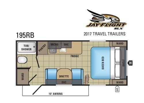 2017 Jayco Jay Flight SLX 195 RB