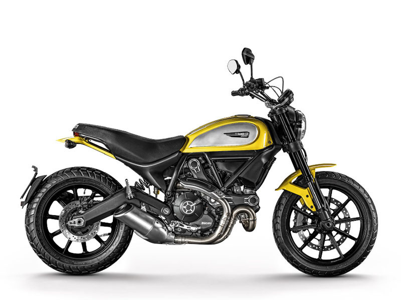 2016 Ducati Scrambler Icon '62 Yellow