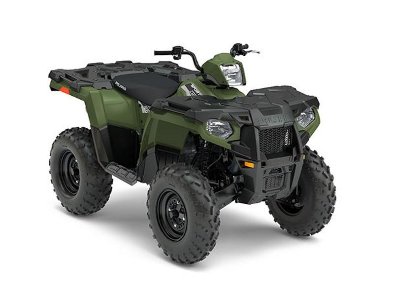 2017 Polaris Sportsman 570 EPS Sage Green