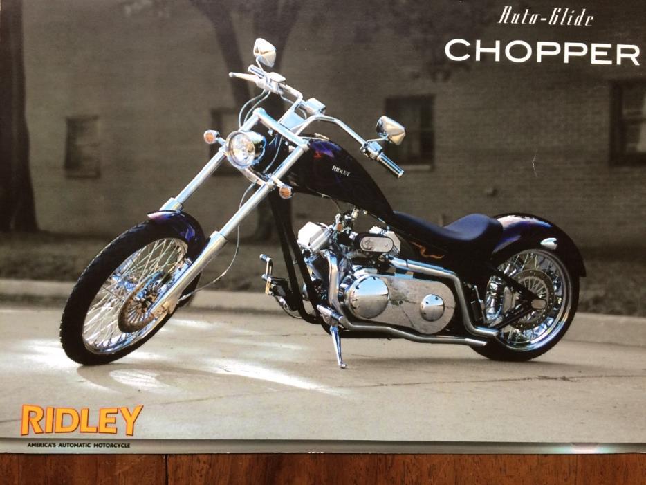 2008 Ridley AUTO GLIDE CHOPPER