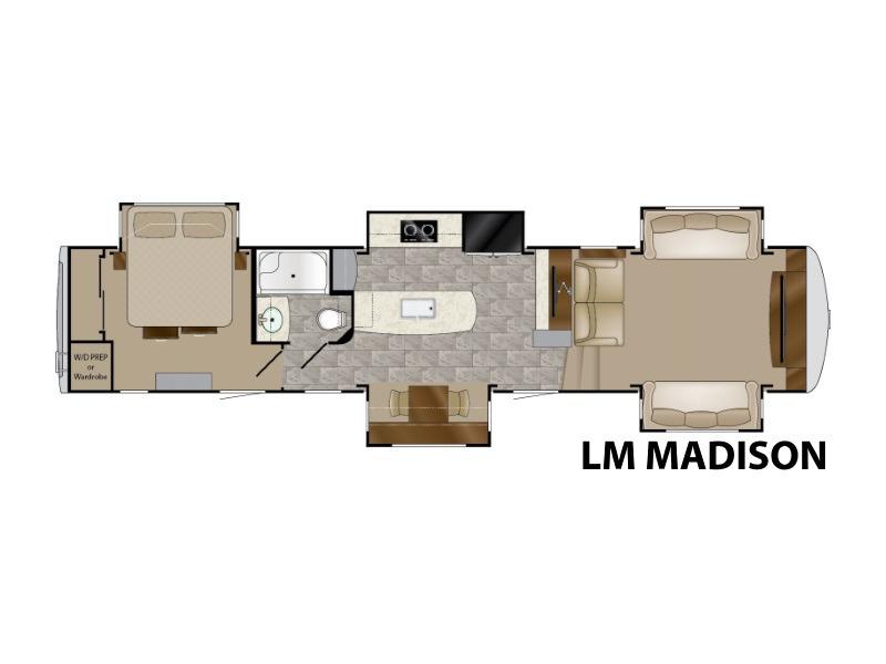 2018 Heartland Landmark 365 LM MADISON