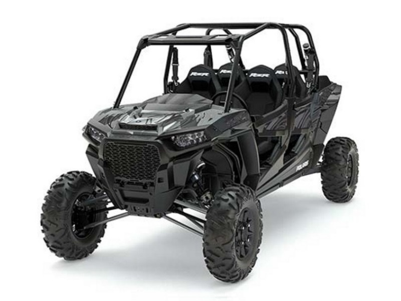 2017 Polaris RZR XP 4 Turbo EPS Titanium Matte Metallic