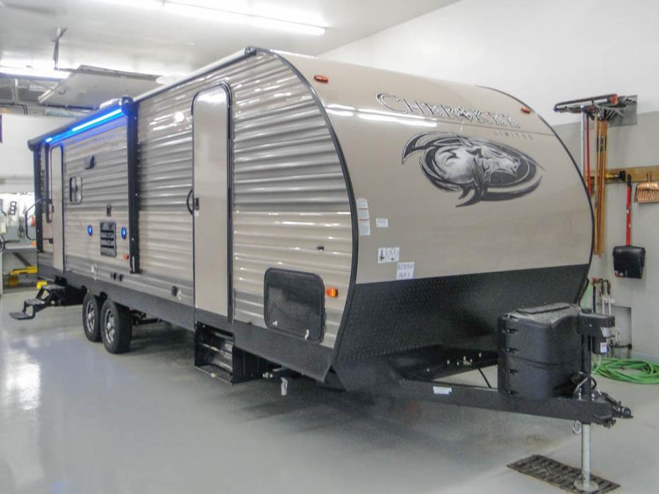 2018 Forest River Cherokee 264L Rear Living