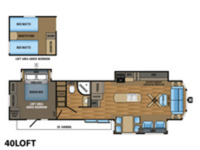2018 Jayco Jay Flight Bungalow 40 Loft