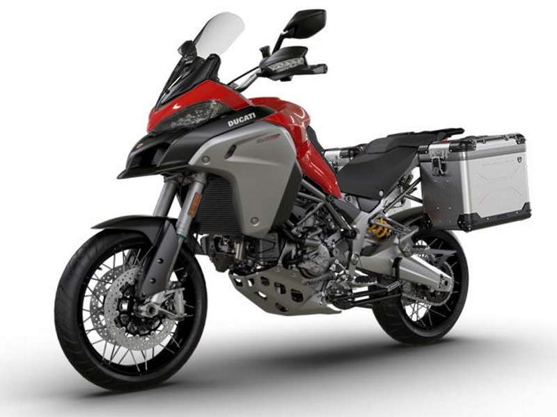 2017 Ducati Multistrada 1200 Enduro Tour Package Red