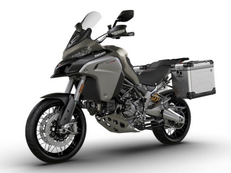 2017 Ducati Multistrada 1200 Enduro Tour Package Phantom Grey