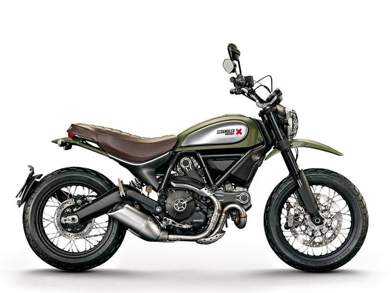 2017 Ducati Scrambler Urban Enduro Wild Green