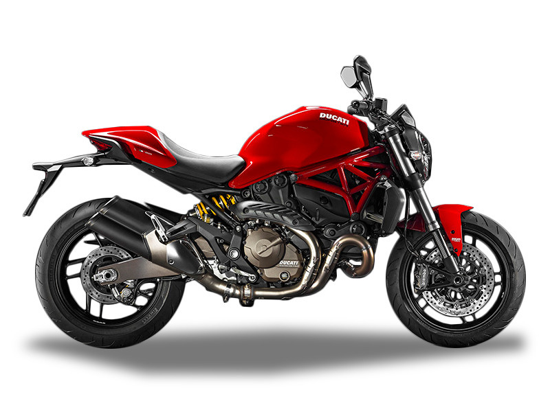 2016 Ducati Monster 821 Red