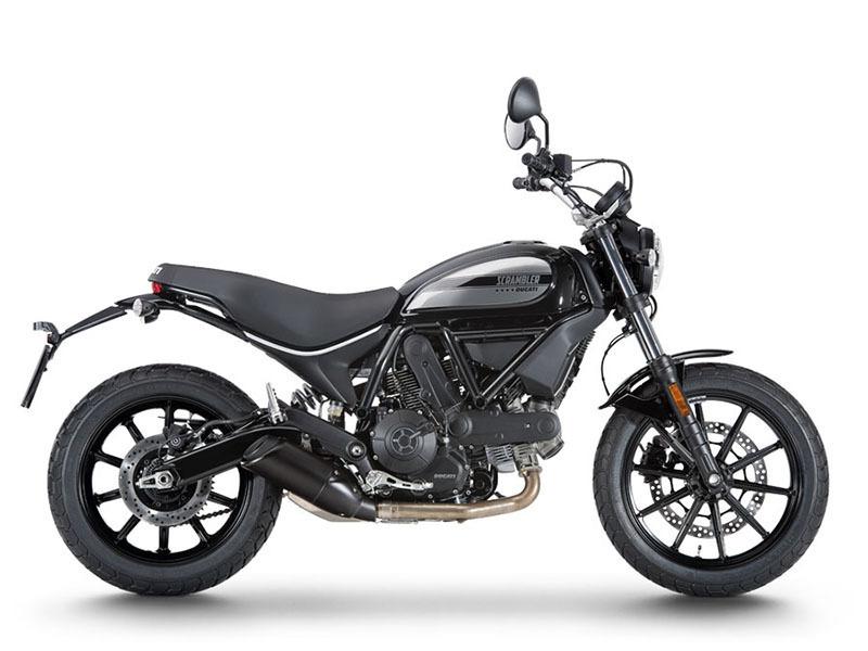 2016 Ducati Scrambler Sixty2 Shining Black