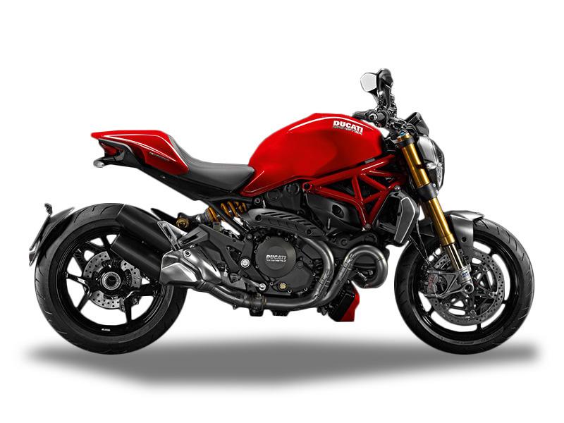 2016 Ducati Monster 1200 S Red