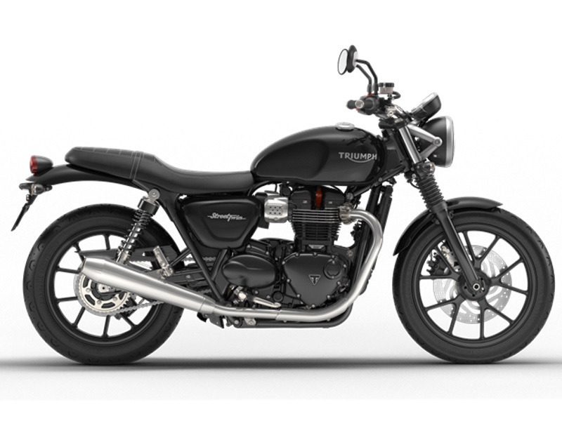 2017 Triumph Street Twin Phantom Black