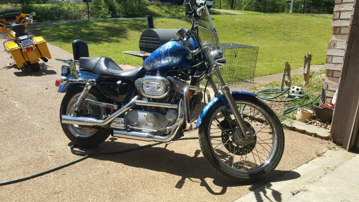 harley sportster 883 motorcycles for sale in mississippi. Black Bedroom Furniture Sets. Home Design Ideas