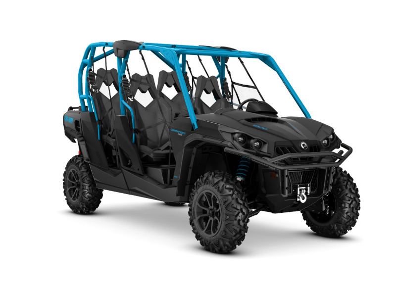2016 Can-Am Commander MAX XT 1000 Matte Black & Octane Blue