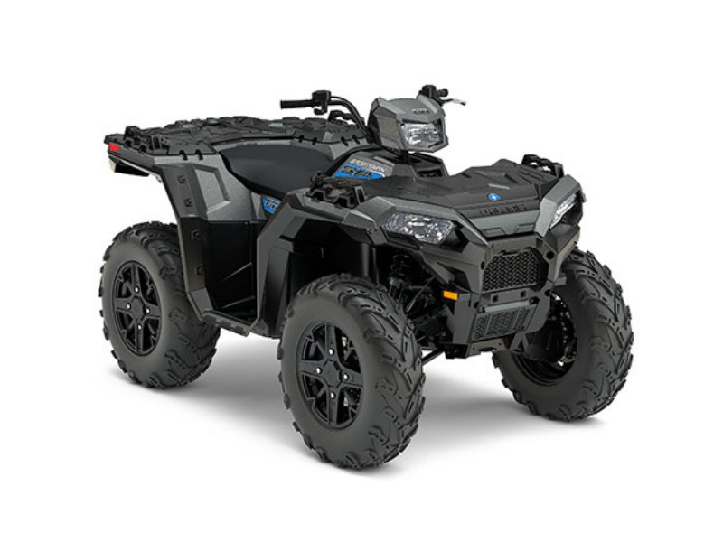 2017 Polaris Sportsman 850 SP Titanium Mate Metallic