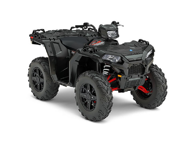 2017 Polaris Sportsman XP 1000 Stealth Black