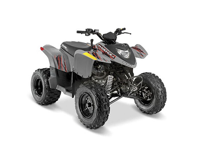 2017 Polaris Phoenix 200 Avalanche Gray