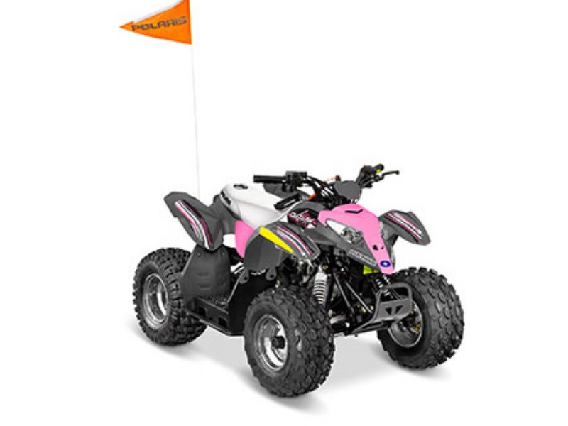 2017 Polaris Outlaw 50 Pink Power