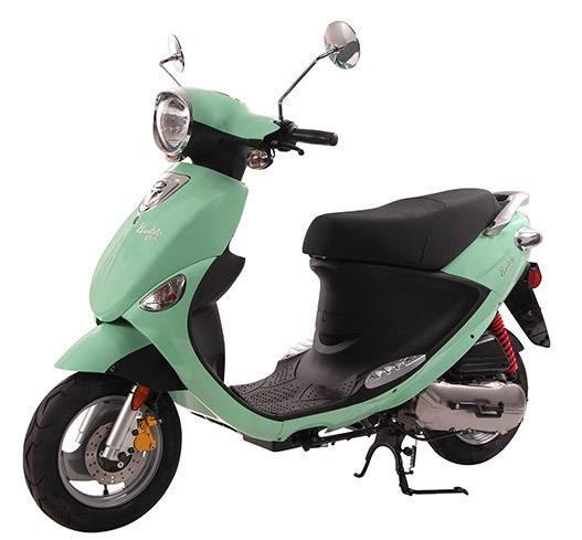 2017 Genuine Scooter Company Buddy 50