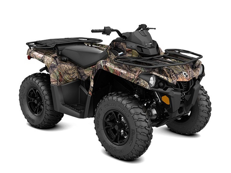 2017 Can-Am Outlander DPS 450 Mossy Oak Break-up Country Camo