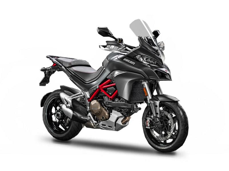 2017 Ducati Multistrada 1200 S Volcano Grey