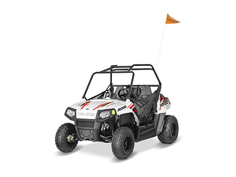 2017 Polaris RZR 170 EFI Bright White