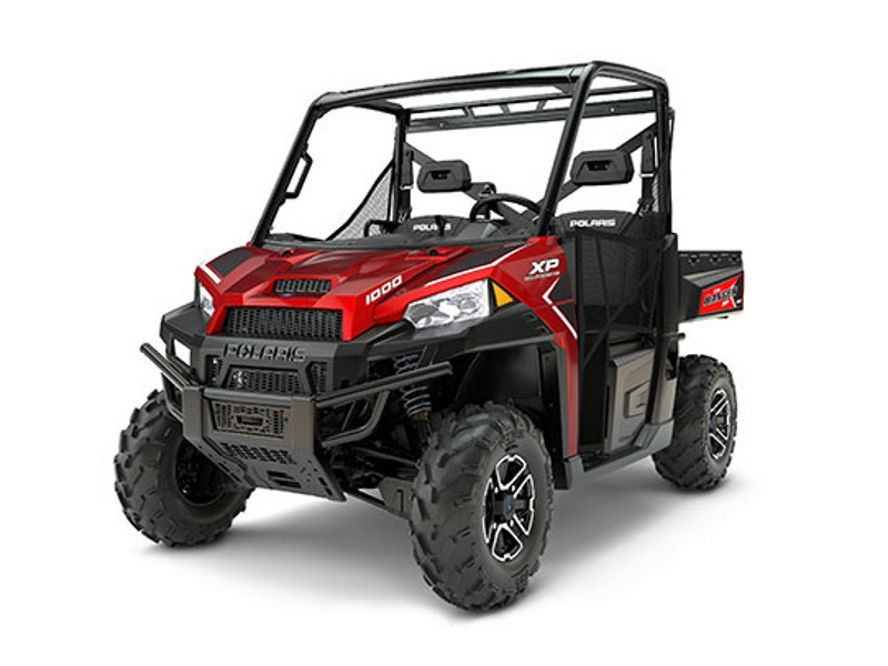 2017 Polaris RANGER XP 1000 EPS Sunset Red