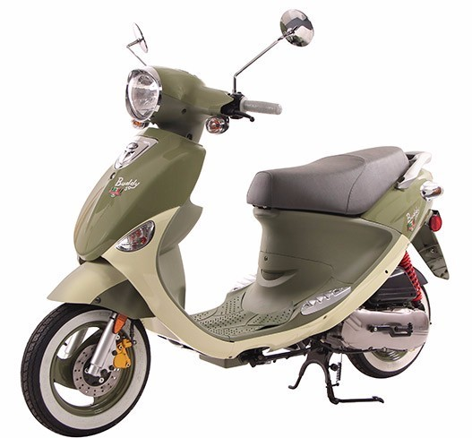 2017 Genuine Scooter Company Buddy 50 International