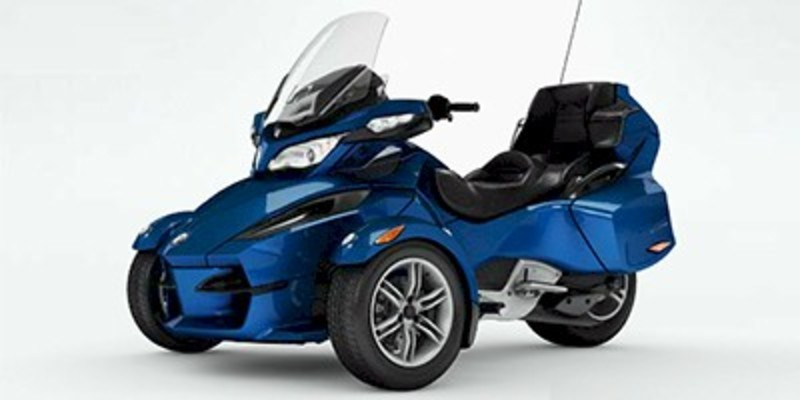 2012 Can-Am Spyder Roadster RT Audio And Convenience
