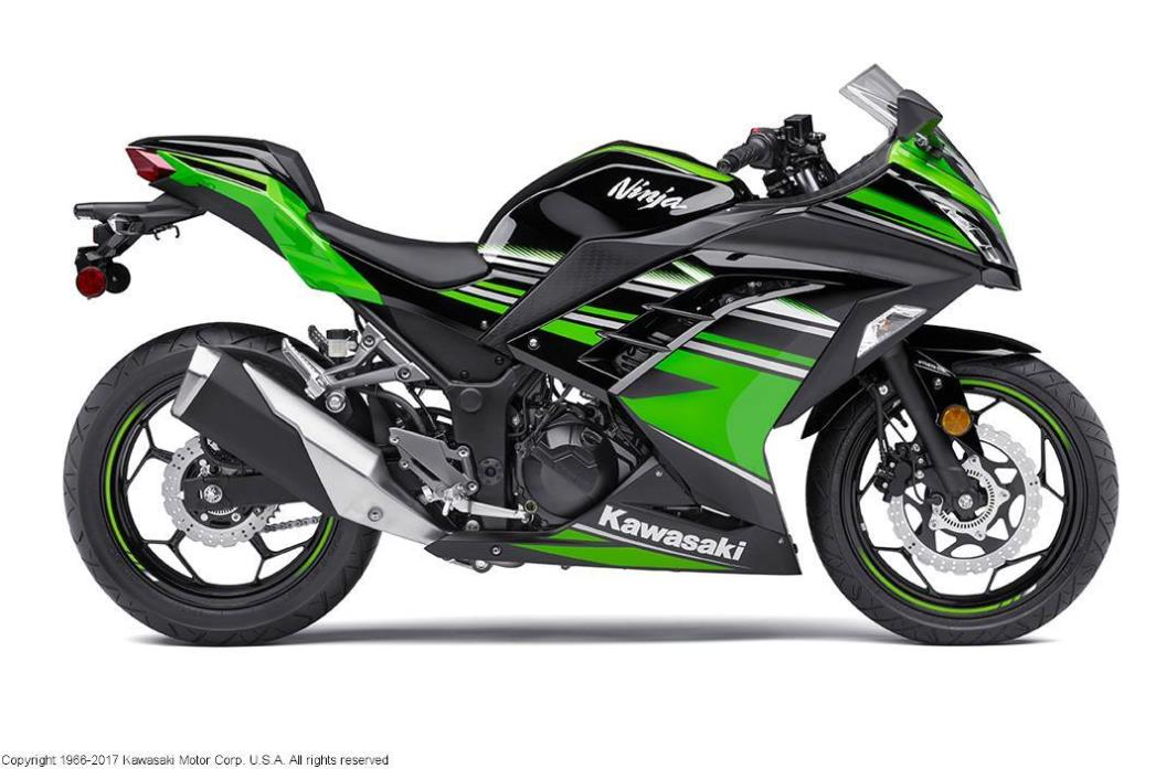 2017 Kawasaki NINJA 300 ABS WINTER