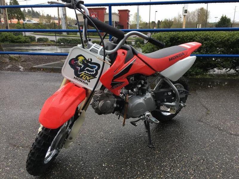 2008 Honda CRF 50F