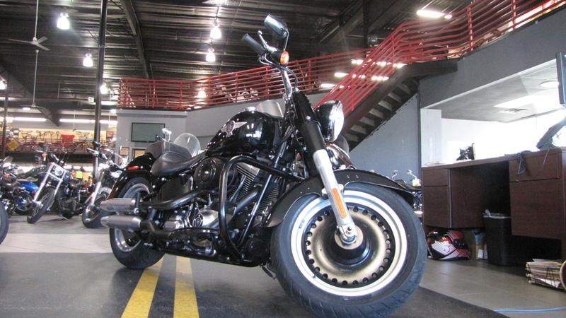 2010 Harley-Davidson FLSTFB - Softail Fat Boy Lo