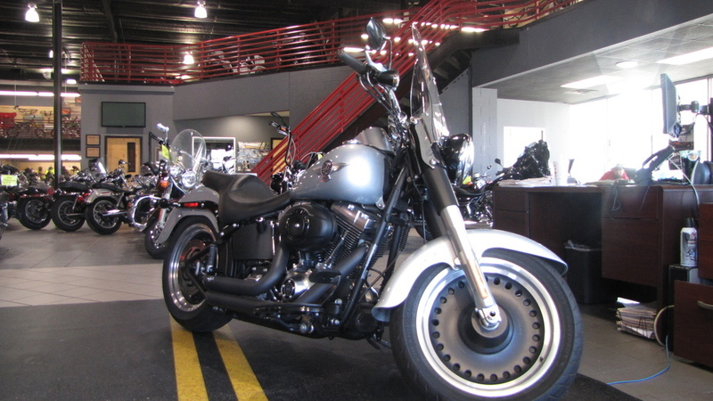 2011 Harley-Davidson FLSTFB - Softail Fat Boy Lo