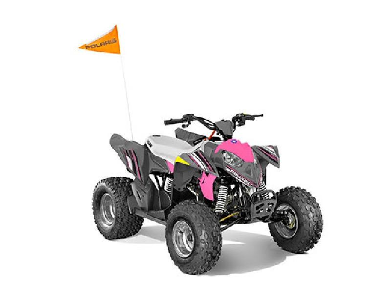 2017 Polaris Outlaw 110 Pink Power