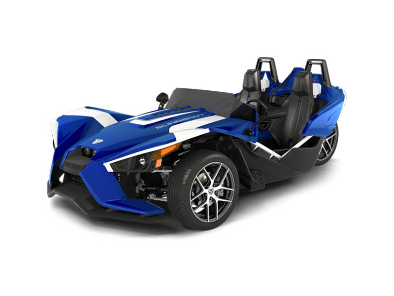 2016 Polaris Slingshot SL LE Blue Fire