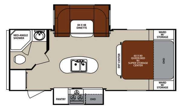2014 Forest River Rv Surveyor Cadet SC 226