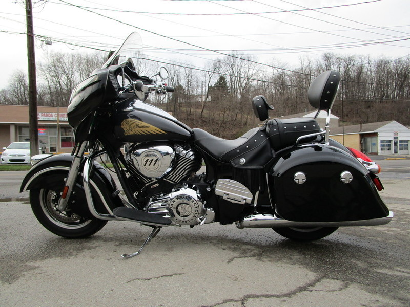 2014 Indian Motorcycle Chieftain Thunder Black