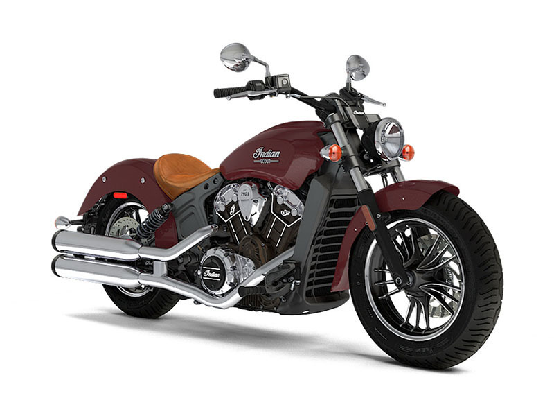 2017 Indian Motorcycle Scout ABS Burgundy Metallic
