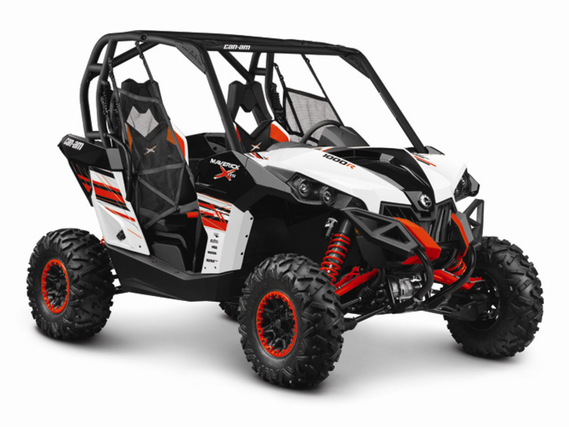 2014 Can-Am Maverick X rs 1000R White, Black & Can-Am Red