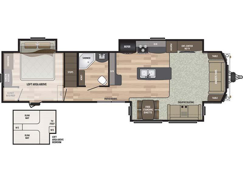 2017 Keystone Residence 40LOFT