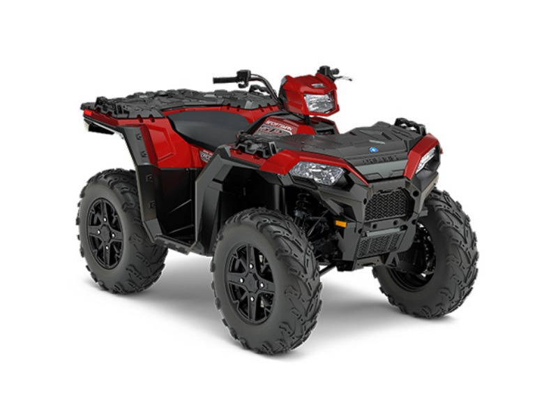 2017 Polaris Sportsman 850 SP Matte Sunset Red