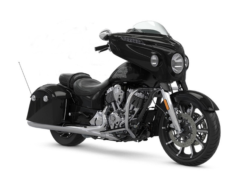 2017 Indian Motorcycle Chieftain Limited Thunder Black