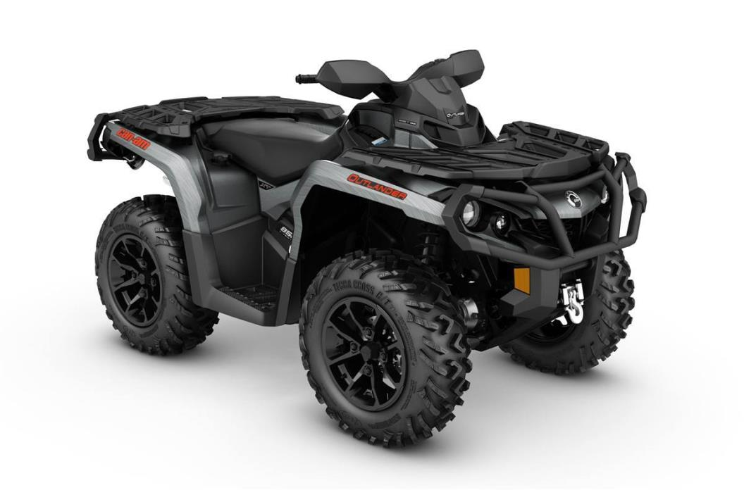 2017 Can-Am Outlander XT 850 - Brushed Aluminum