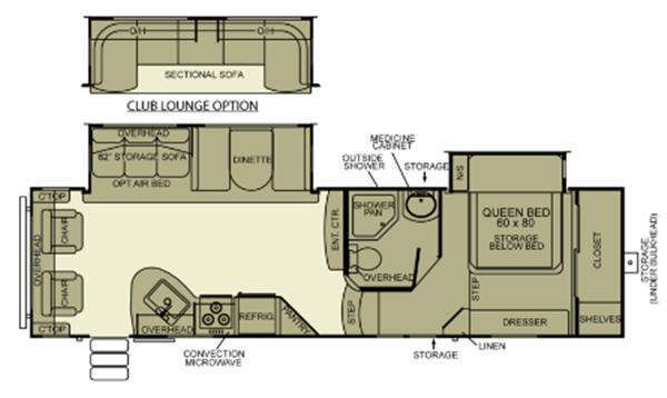 2012 Evergreen Rv Ever-Lite 32RL-5