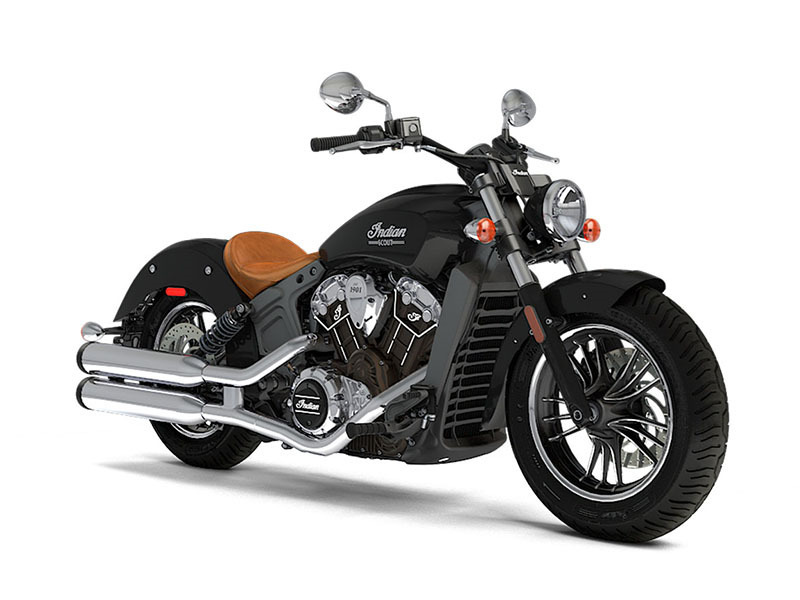 2017 Indian Motorcycle Scout Thunder Black