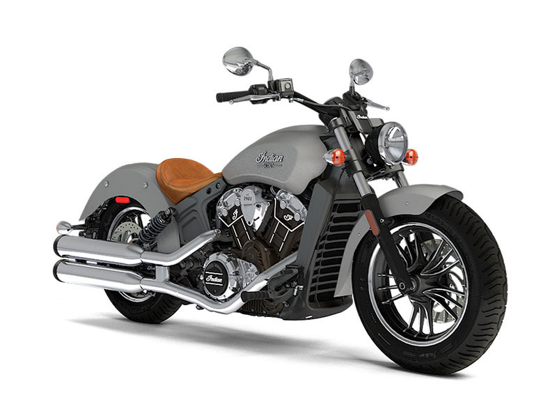 2017 Indian Motorcycle Scout Silver Smoke