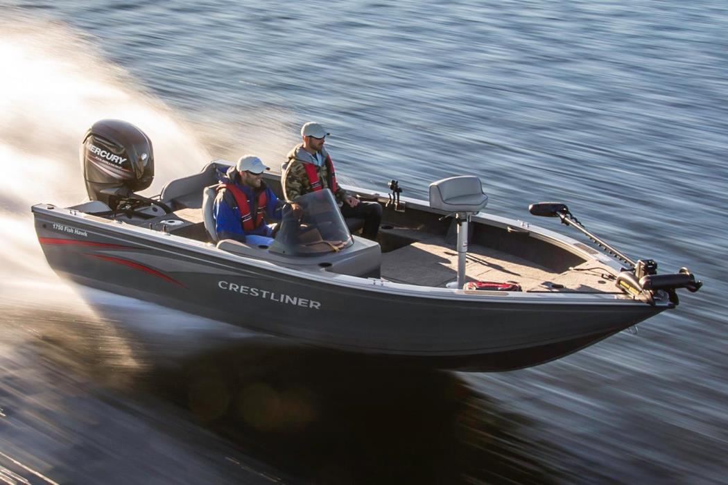 Crestliner 1750 fish hawk boats for sale in wisconsin for Crestliner fish hawk