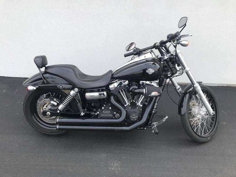 2012 Harley-Davidson FXDWG - Dyna Wide Glide